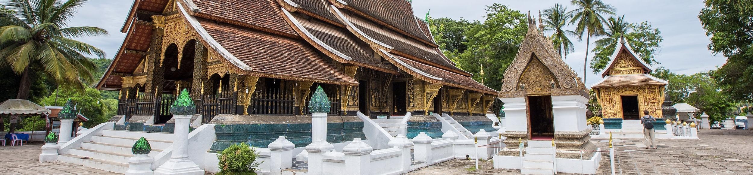 Temple Wat Xieng Thong à Luang Prabang, voyage au Laos
