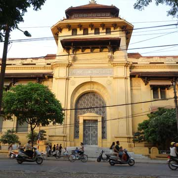 L'architecture coloniale de Hanoi avec Carnets d'Asie