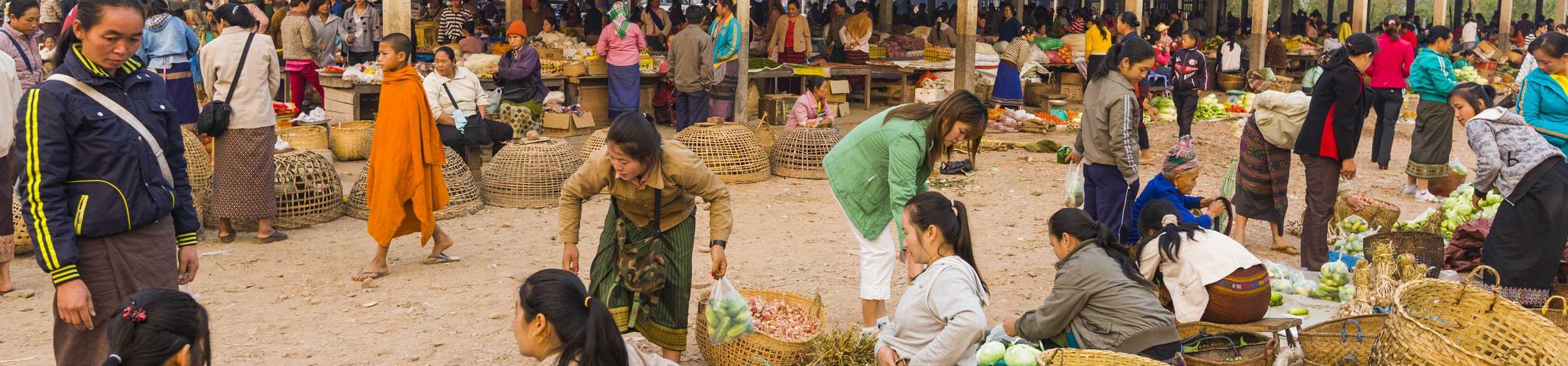 Marché de Muang Sing