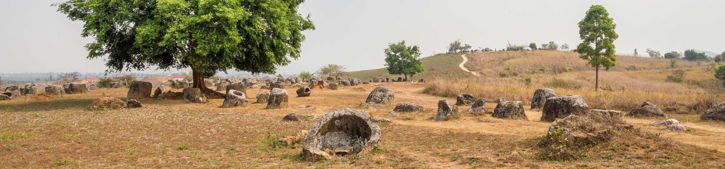 La plaine des jarres de Phonsavan