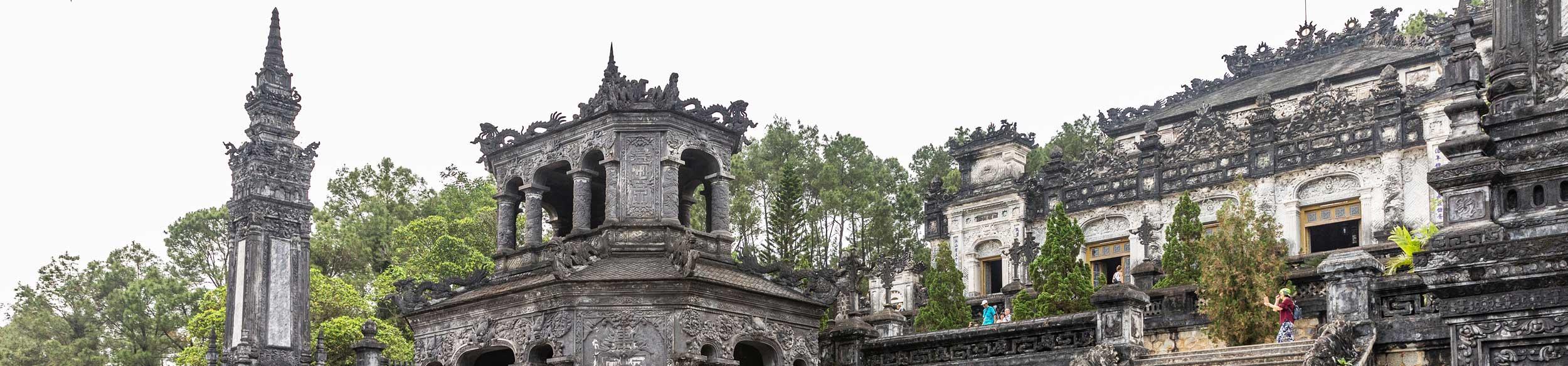 Tombeau impérial de Khai Dinh à Hue