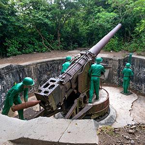 Le fort du canon de Cat Ba