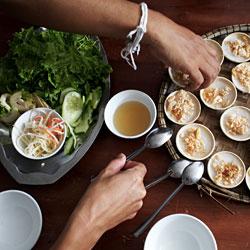 Cours de cuisine au Vietnam