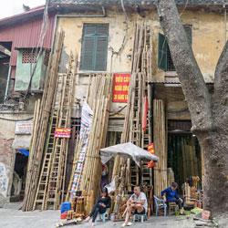 Quartier des 36 rues de métier à Hanoi