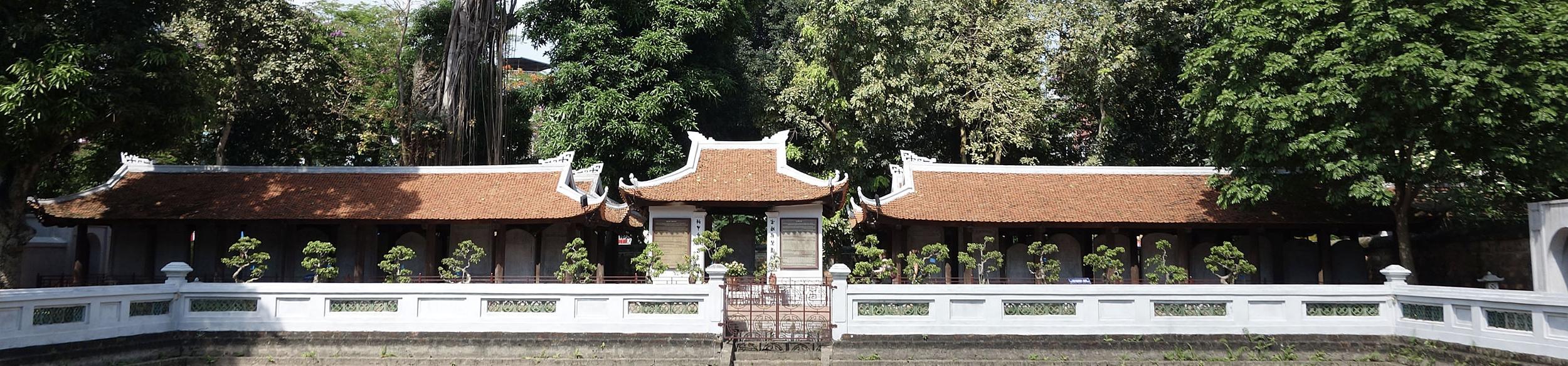Stèles du temple de la littérature à Hanoi