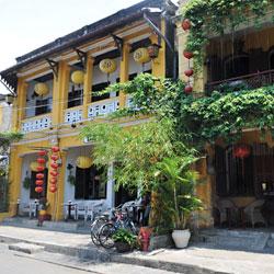 Ancienne maison de Hoi An au centre Vietnam
