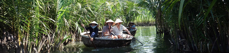 Mangrove de Cam Thanh à Hoi An au centre Vietnam