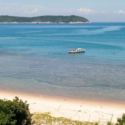 Snorkeling à l'île Cham au large de Hoi An
