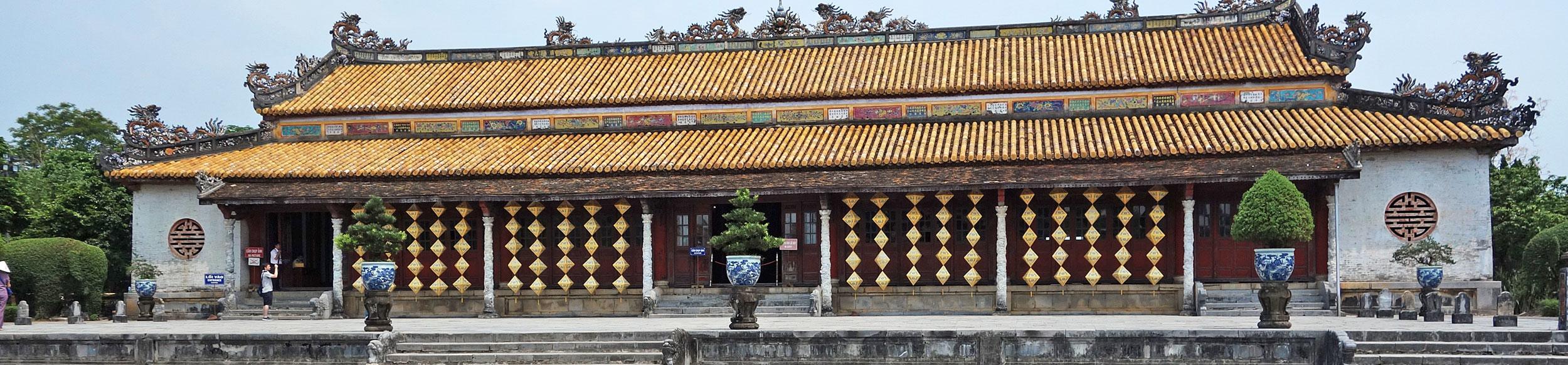 Cité impériale de Hué au centre Vietnam