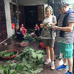 excursion au ville de La Chu près de Hué au Vietnam