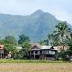 village Thai à Mai Chau au nord Vietnam