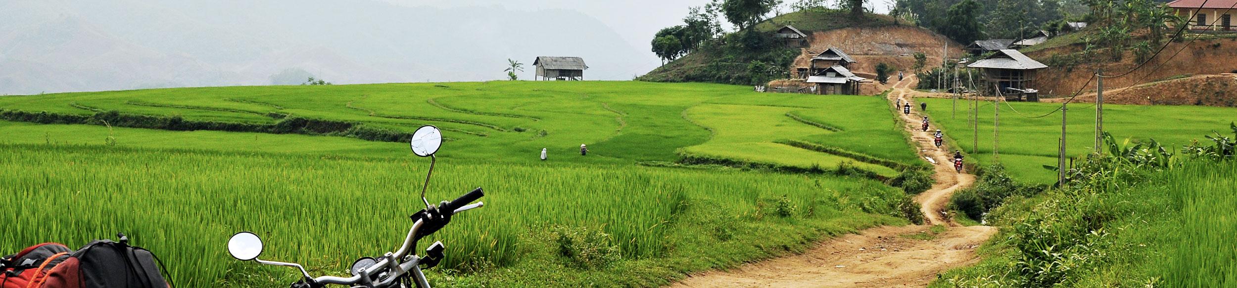 road trip à moto au nord Vietnam