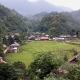 Village de Ban Kho Muong au coeur de la réserve naturelle de Pu Luong