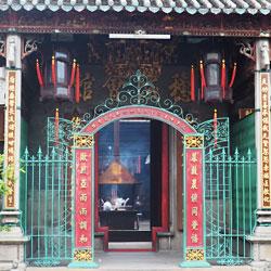 Temple taoïste Ba Thien Hau de la déesse de la mer
