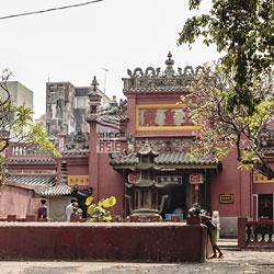 Pagode de l'Empereur de Jade à Saigon