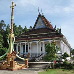 Pagode Khmer à Tra Vinh