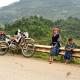 Rencontre lors d'un voyage au Vietnam à moto près de Mu Cang Chai