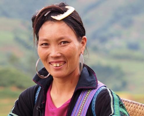 femme de l'ethnie H'mong