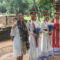 Stéphanie en voyage de noce au Vietnam