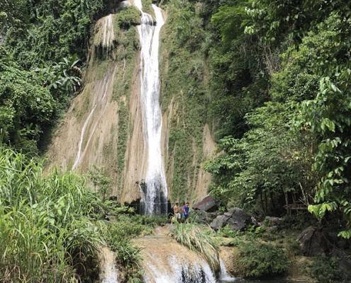 Impressionnante chute d'eau à Tuyen Quang