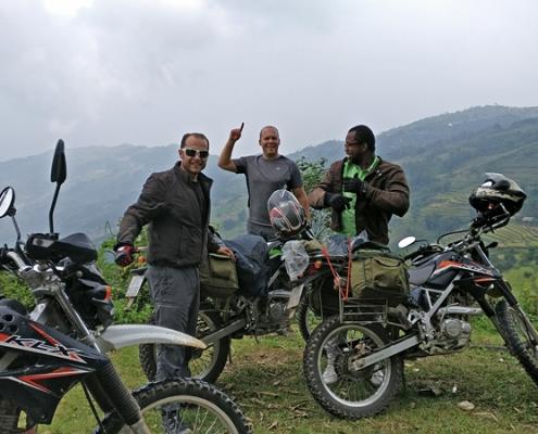 7 jours à moto en passant par Xin Man au nord Vietnam