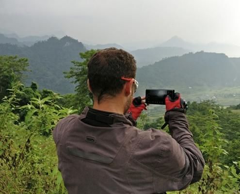 Pause photo durant le séjour de 7 jours à moto au VIetnam