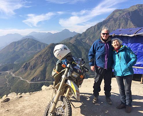 Au coeur de la province de Ha Giang, lors d'un voyage à moto au Vietnam