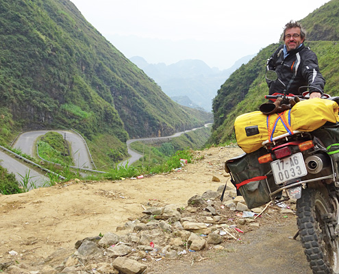 Voyage à moto à Ha Giang au Vietnam