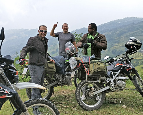 Voyage au Vietnam à moto dans la province de Ha Giang