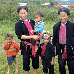 Ethnies sur le trajet de Dien Bien Phu à moto