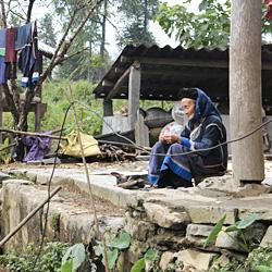 Ethnie Ha Ni à Muong Khuong