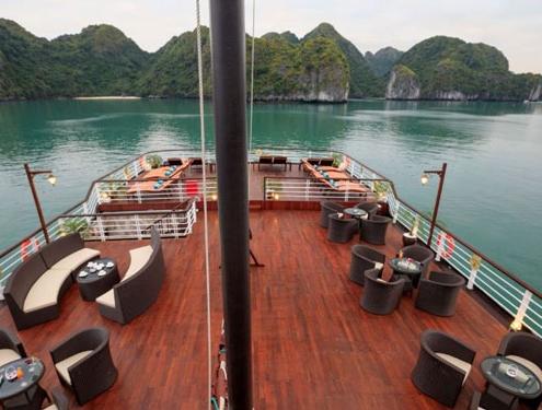 Croisière de 3 jours et 2 nuits dans la baie de Lan Ha