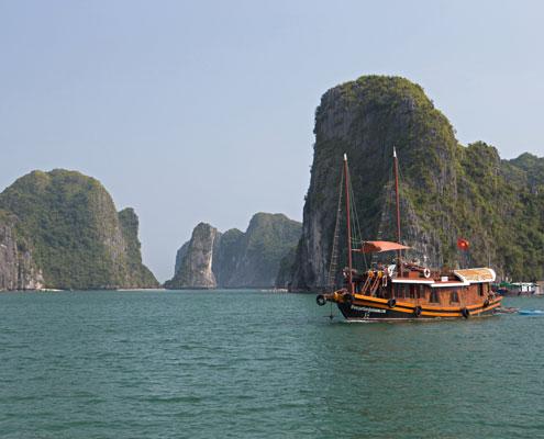 Croisière en baie de Lan Ha avec Carnets d'Asie