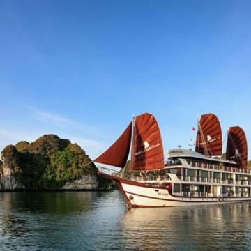 Croisière de 2 jours et 1 nuit dans la baie de Lan Ha avec Perla Dawn Cruise et Carnets d'Asie