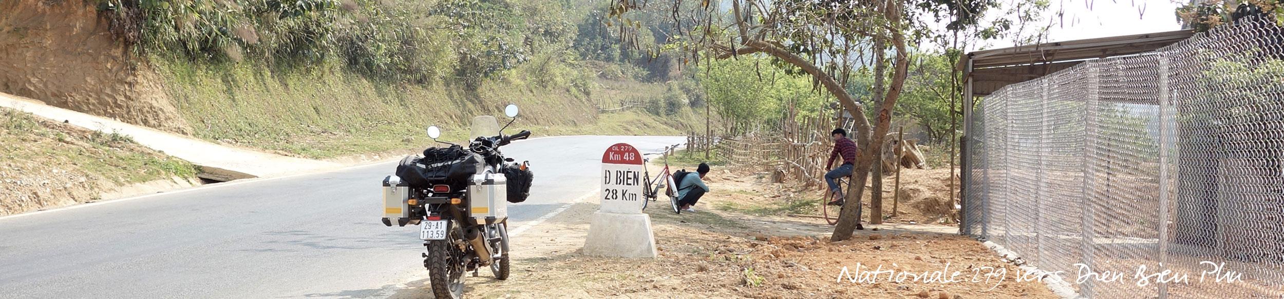 Dien Bien Phu à moto par la nationale 279