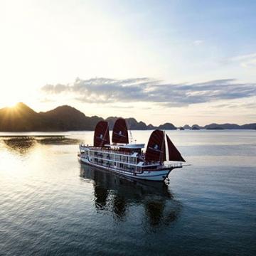 Croisière de 3 jours et 2 nuits avec Perla Dawn Sails en baie de Lan Ha