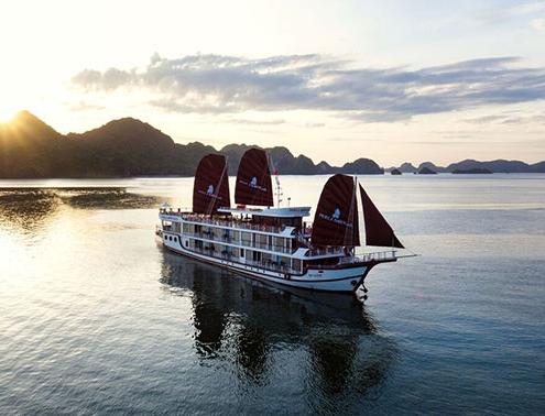 Croisière en Baie de Lan avec Perla Dawn Sails de 3 jours et 2 nuits