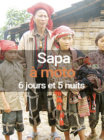 Voyage à moto à Sapa au Vietnam