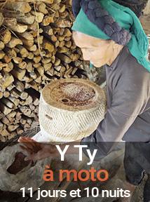 Voyage au Vietnam à moto dans la région de Y Ty