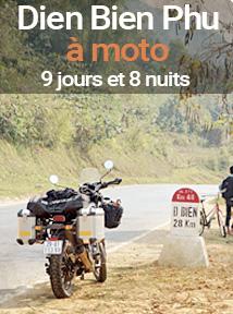 Circuits Vietnam Dien Bien Phu à moto