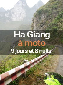Circuits Vietnam Ha Giang à moto