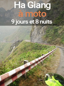 Voyage à moto au Vietnam dans la province de Ha Giang