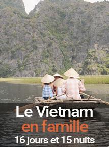 la traversée du Vietnam avec des enfants