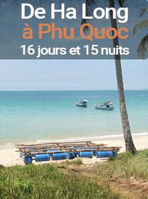 séjour balnéaire sur l'île de Phu Quoc, 16 jours et 15 nuits
