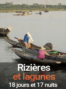 rizières et lagunes du Vietnam, séjour de 18 jours et 17 nuits