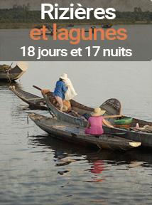 voyage rizières et lagunes du Vietnam, 18 jours et 17 nuits au Vietnam