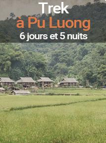 séjour randonnée dans la réserve de Pu Luong au Vietnam, 6 jours et 5 nuits