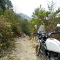 Hors piste au Vietnam en Royal Enfield Himalayan