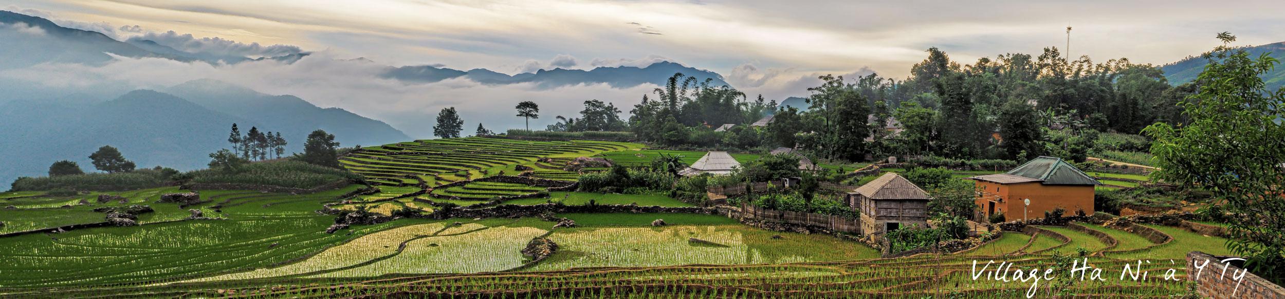 Un voyage à moto dans la région de Y Ty au Vietnam