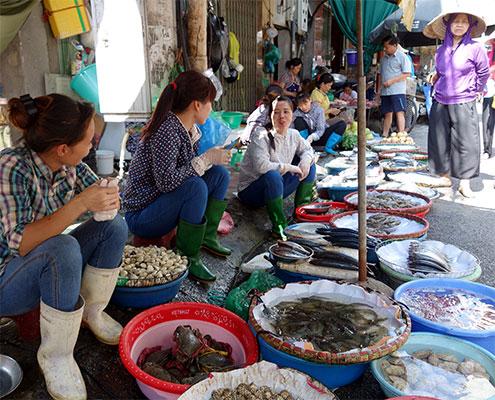 Food tour et marché de Hanoi